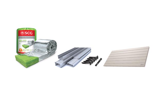 Ceiling and wall installation equipment insulation